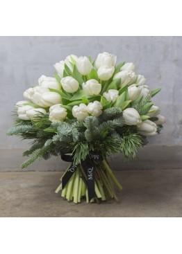Новогодние тюльпаны
