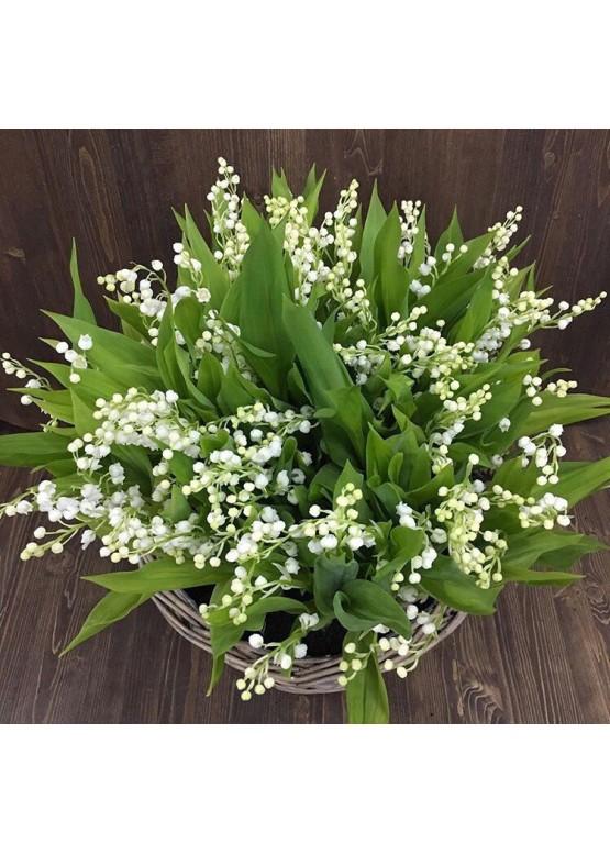 Цветы с доставкой, ландыш, москва, букеты