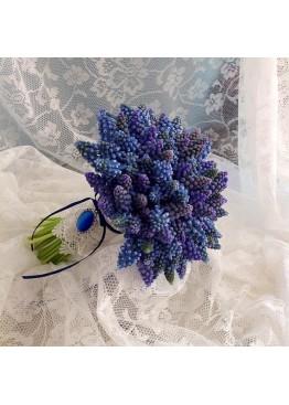 Букет невесты из мускари