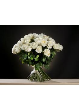 29 белых роз для любимой