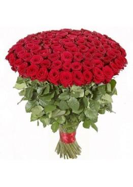 101 роза высотой 80 см.