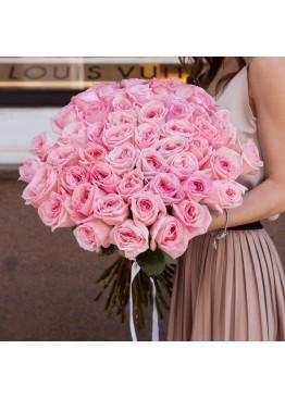101 роза Пинк О Хара